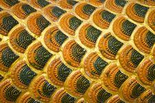 Free Naga Scale Pattern Royalty Free Stock Photos - 17295028