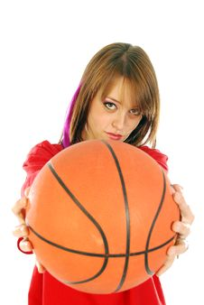 Free Let S Make A Game Of Basketball Royalty Free Stock Photo - 17295065