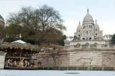 Free Sacre Coeur Under Snow - Montmartre - Paris Stock Photo - 17295160