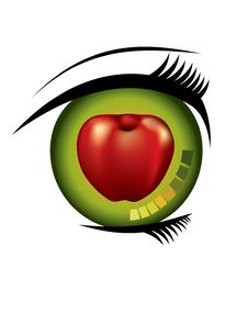 Free You Are The Apple Of My Eye. Royalty Free Stock Photos - 17295498