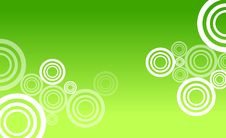 Free Green Circle Abstract Royalty Free Stock Photos - 17295638