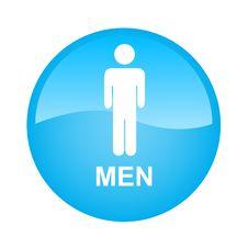 Free Blue Single Men Stock Image - 17295701