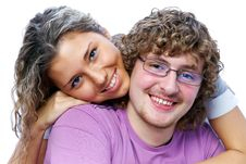 Free Couple  Teenagers Stock Photos - 17295703