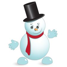 Free Snowman Stock Image - 17295871