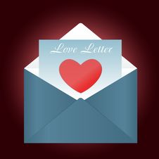 Free Love Letter Stock Images - 17295914