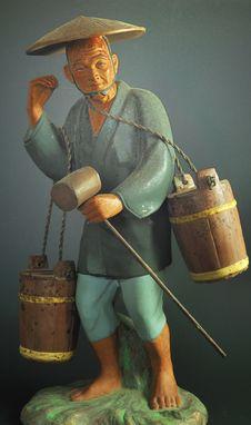 Free Honey Bucket Man Stock Photos - 17296143