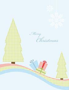 Free Winter Greeting Card Stock Image - 17296541