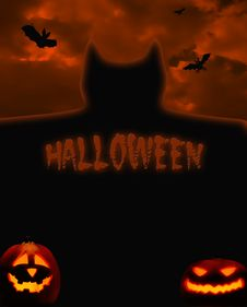 Free Halloween Night Royalty Free Stock Images - 17296589