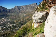 Free Table Mountain Stock Image - 17296691