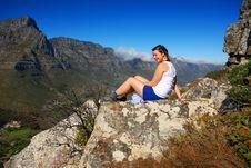 Free Viewing Table Mountain Stock Photos - 17296803