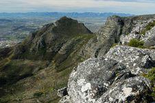 Devil S Peak Stock Image
