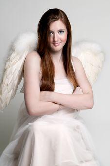 Free Rebellious Angel Royalty Free Stock Photo - 17298625