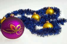 Free Christmas Glass Ball Royalty Free Stock Photo - 17298665