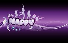 Free Background Celebration Illustration Stock Photography - 17298752
