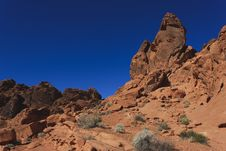 Free Valley Of Fire National Park Stock Photography - 17299262