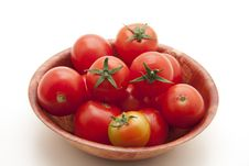 Free Cocktail Tomatoes Royalty Free Stock Image - 17299916
