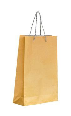 Free Shopping Paper Bag Royalty Free Stock Photography - 17299937