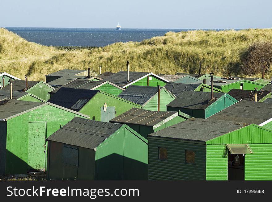 Fishermans huts