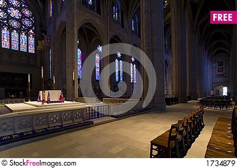 Free Grace Cathedral In San Francisco Royalty Free Stock Images - 1734879