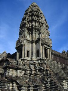 Free Temple In Angkor Wat Royalty Free Stock Images - 1730919