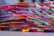Free Post-its Royalty Free Stock Photos - 1731098