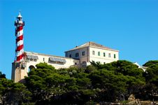 Free Lighthouse Sestrice, Croatia Royalty Free Stock Photos - 1731738