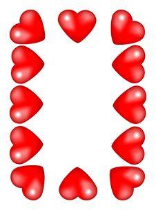 Free Valentine Frame Stock Image - 1731741