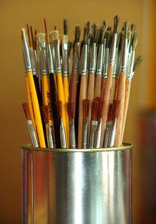 Free Brushes Stock Photo - 1732690