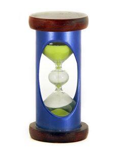 Sand Clock Stock Photography
