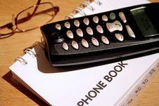 Free Telephone Book Stock Photo - 1733760