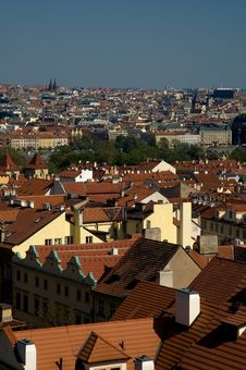 Free View Of Prague Stock Photography - 1733772