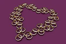 Free Golden Rings Stock Photo - 1734720