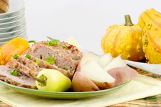 Free Veal And Pork Loaf Stock Photography - 1734732