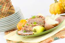 Free Veal And Pork Loaf Royalty Free Stock Photos - 1734738