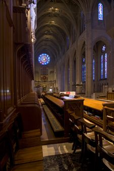 Free Grace Cathedral In San Francisco Stock Photography - 1734892