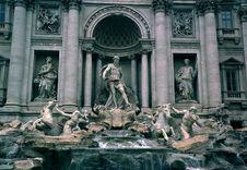 Free Fontana De Trevi Stock Photo - 1735050