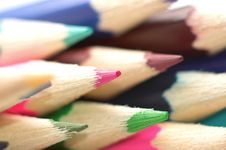Free Colouring Pencils Stock Images - 1735254