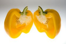 Free Yellow Bell Pepper Royalty Free Stock Image - 1735416