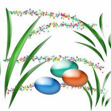 Easter Egg Hunt Art Royalty Free Stock Photo