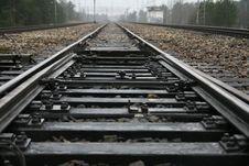 Free Railway Switch Royalty Free Stock Photo - 1735975