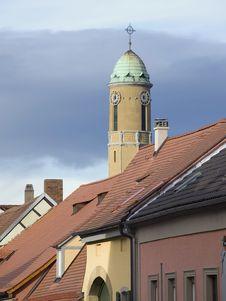 Free Church Tower Royalty Free Stock Photos - 1736228