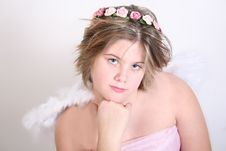 Free Heavenly Angel Royalty Free Stock Photography - 1736617