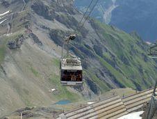 Ski-lift Stock Photo