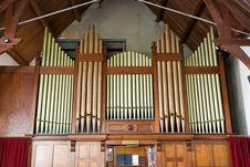 Free Church Organ Stock Photo - 1738470