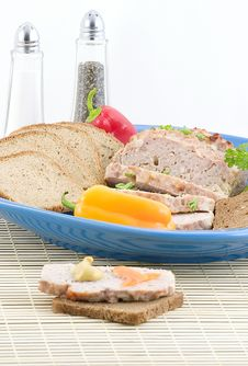 Free Veal And Pork Loaf Sandwiches Stock Images - 1738544