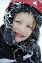 Free Boy Enjoying Winter Weather Royalty Free Stock Photo - 17303515