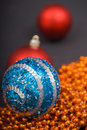Free Colored Decoration For Christmas Royalty Free Stock Photos - 17306088