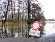 Free Floodwater Royalty Free Stock Photography - 17301077