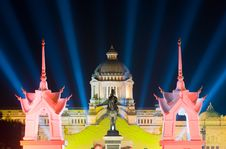 Free The Ananda Samakhom Throne Hall In Bangkok Stock Photos - 17301423