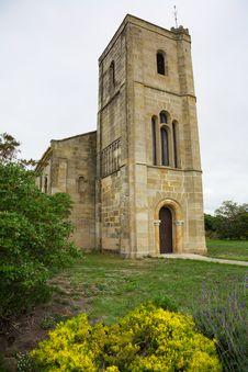 Old Sandstone Church In Tasmania Royalty Free Stock Photo